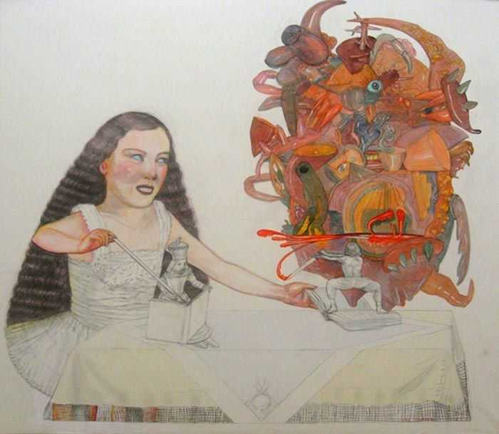 ID&A 国际艺术家与设计师协会主席  Pat Andréa(  帕特・安德烈 ) 法国艺术家 巴黎国立美术学院  法兰西学院美术院联络院士